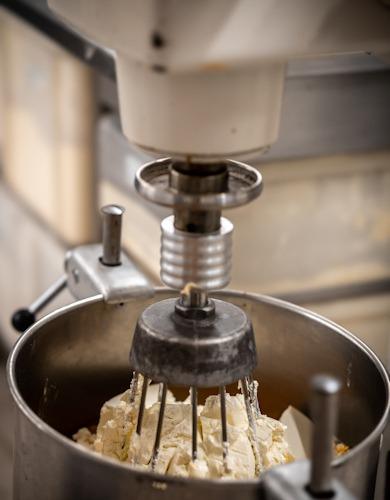 Rührmaschine in der Bäckerei Brücklmaier