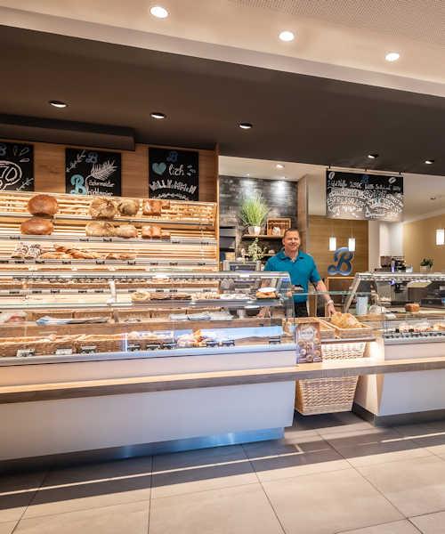 Bäckerei Brücklmaier Filiale in Fasangarten